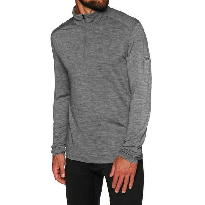 4c7433088e Icebreaker Mens 200 Oasis Ls Half Zip Base Layer Top available from ...