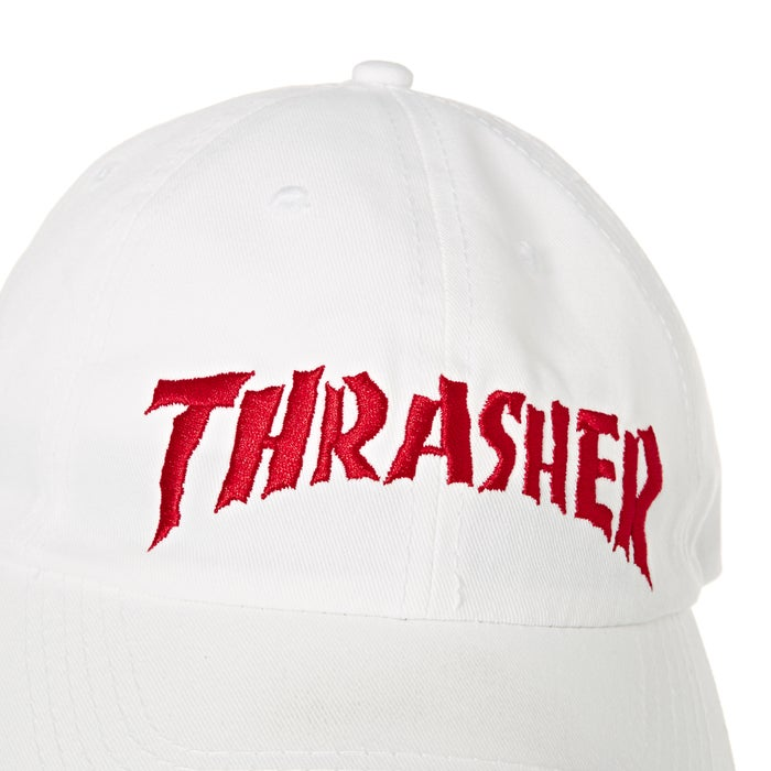 1fc16ce153c Thrasher Neckface Invert Old Timer Cap available from Surfdome