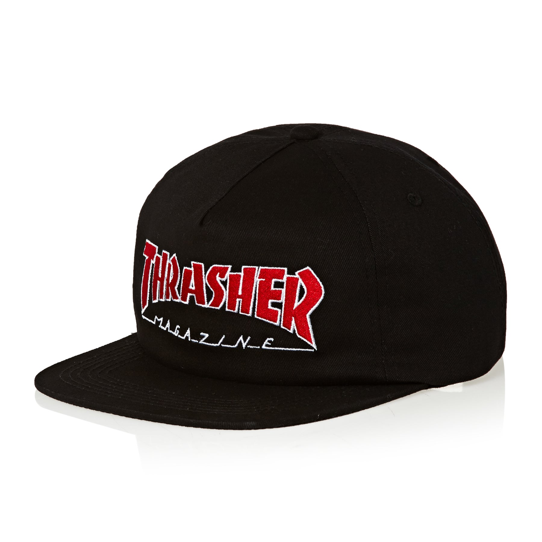 a28dbf67912 Thrasher Outlined Snapback Cap available from Surfdome