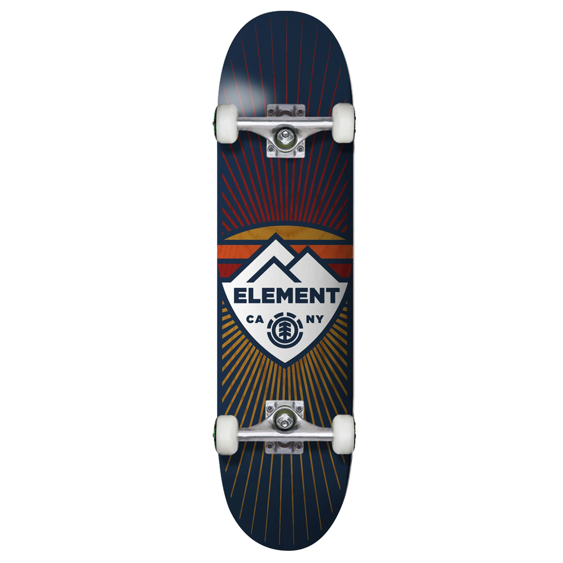 Element Guard 8 Inch Complete Skateboard - Multicolour