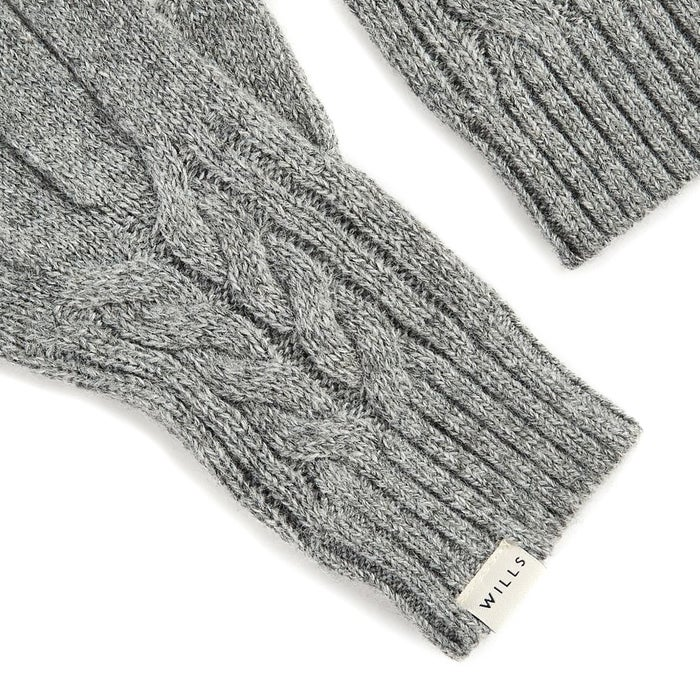 jack wills dovecote cable womens gloves available from. Black Bedroom Furniture Sets. Home Design Ideas
