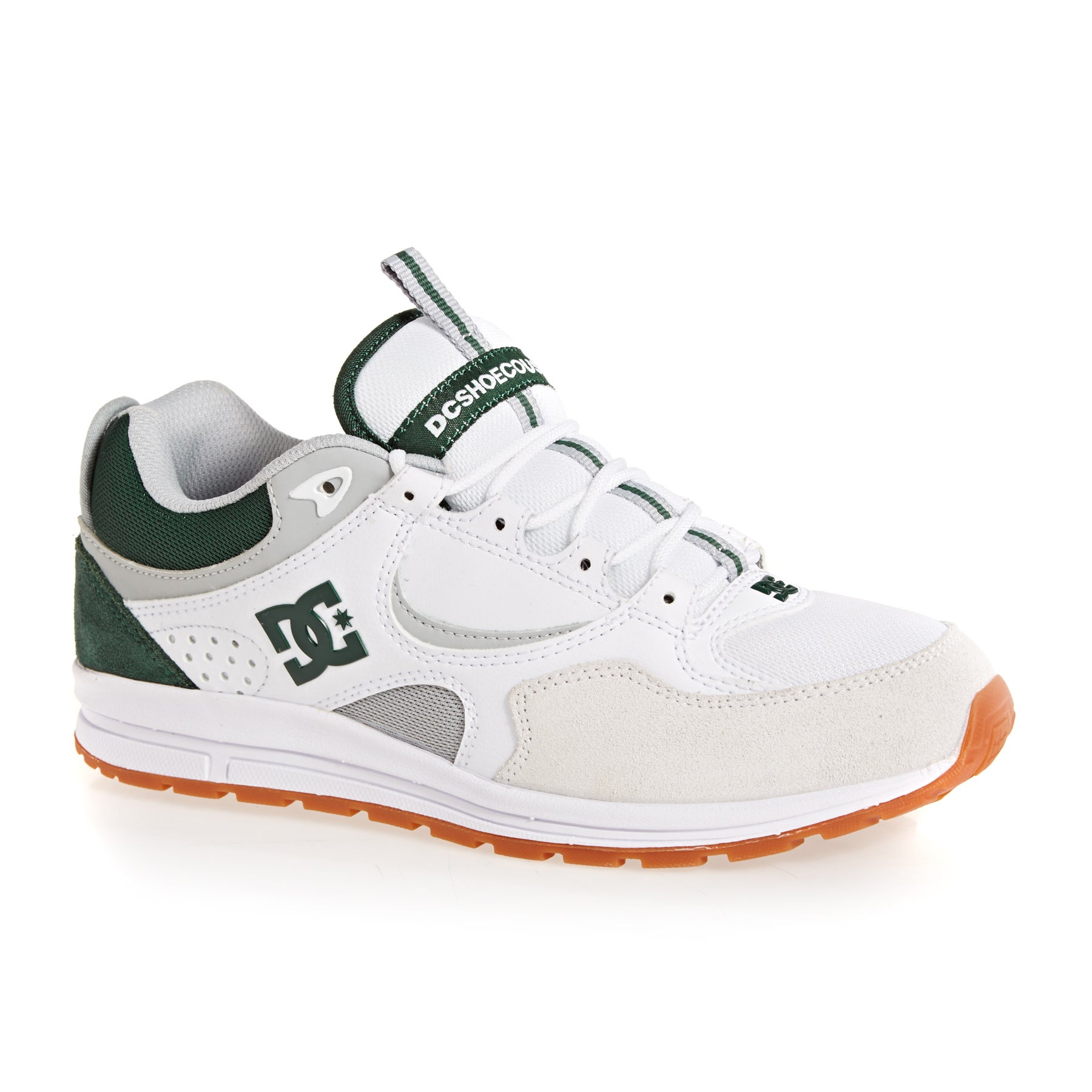 Chaussures DC Kalis Lite - White Grey Green