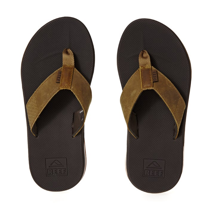 5b2405fa18d4 Reef Leather Fanning Low Sandals available from Surfdome