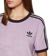 Adidas Originals 3 Stripe Womens Short Sleeve T-Shirt