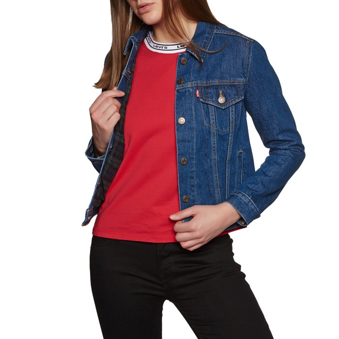 c461c9e39e650 Levis Original Lined Trucker Womens Jacket available from Surfdome