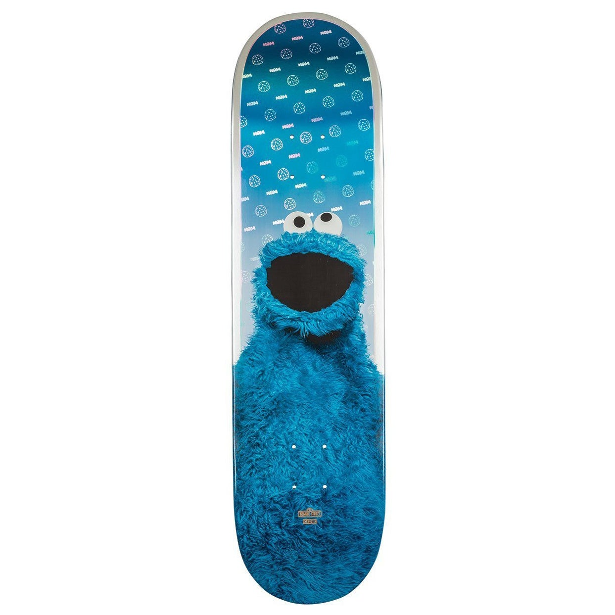 Globe G2 Sesame Street 8.125 Inch Skateboard Deck - Cookie Monster