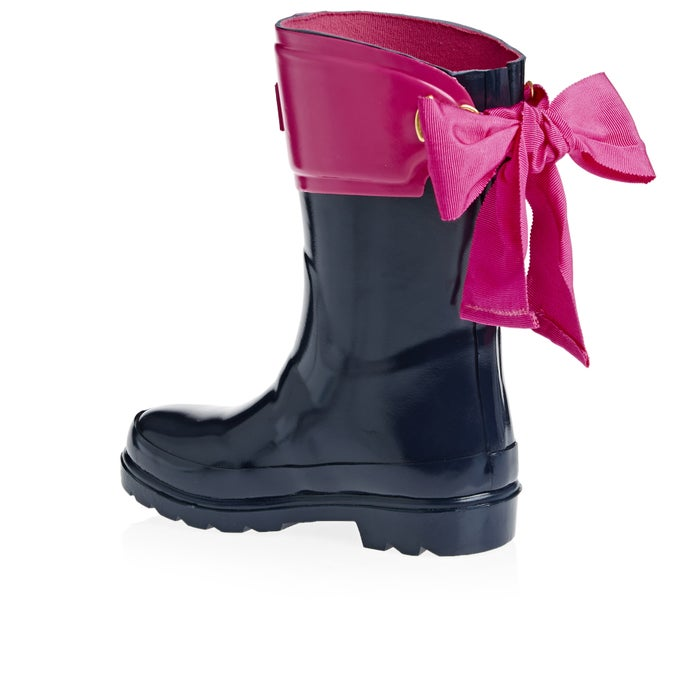 Joules Premium Bow Back Girls Wellies