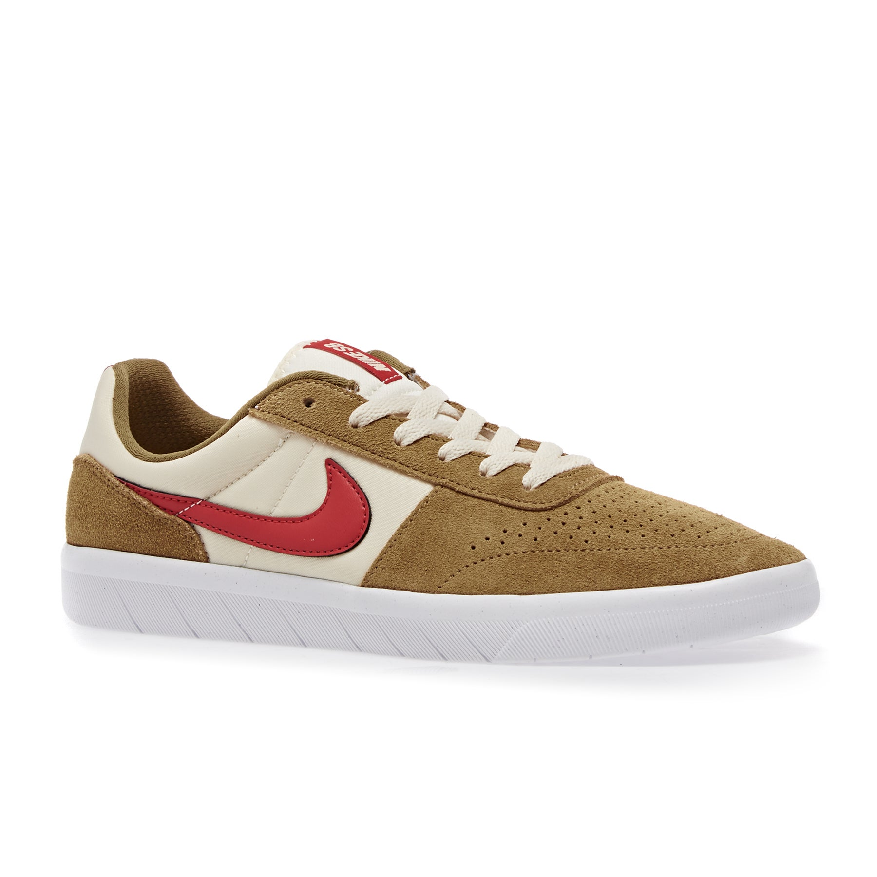 Nike SB Team Classic Shoes - Golden Beige Red Cream