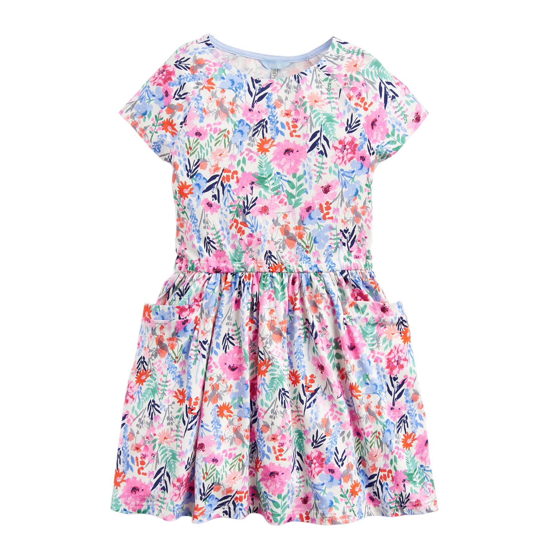 Joules Jude Dress - Cream Multi Floral