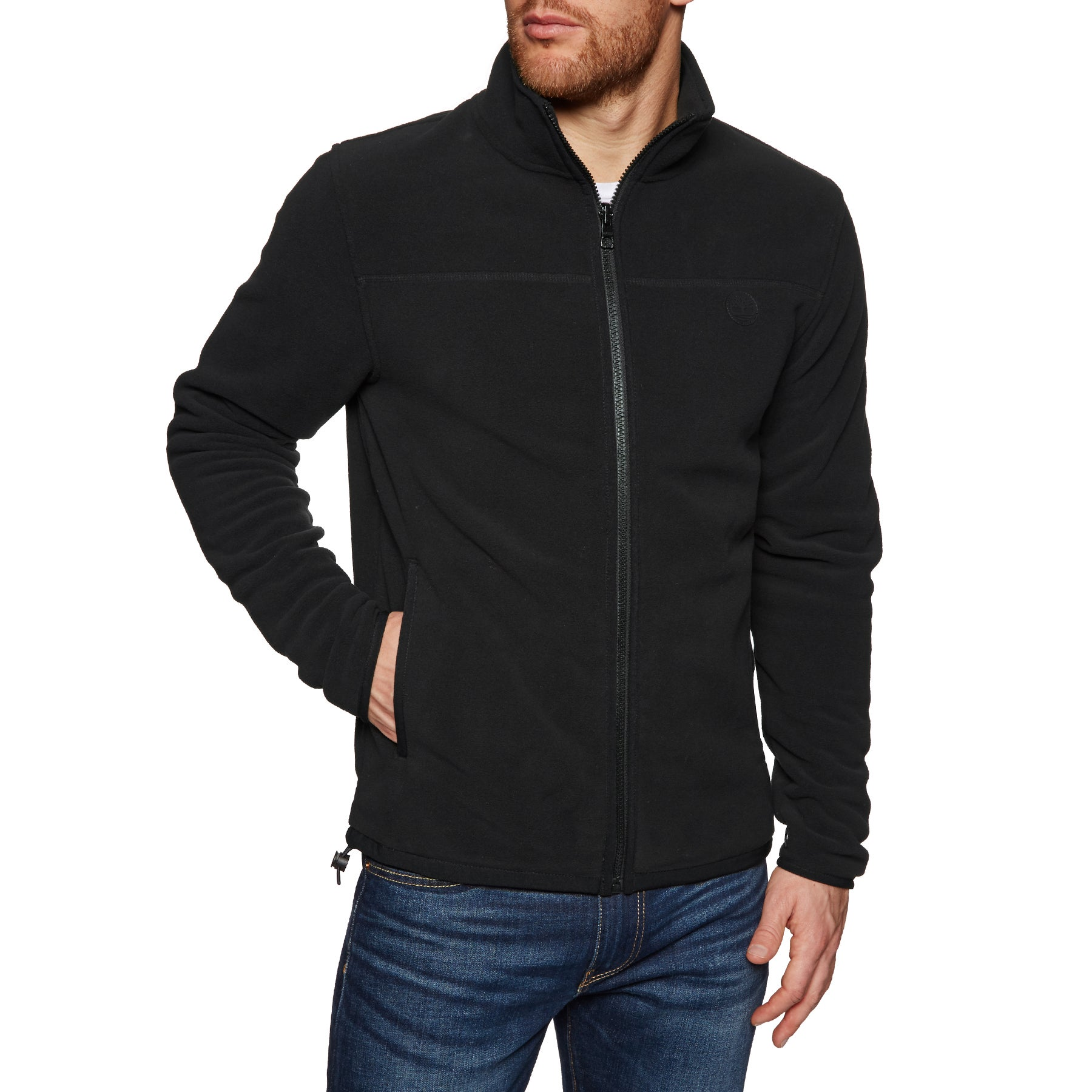 Timberland WHTFC RVR Full Zip Polar Fleece - Black