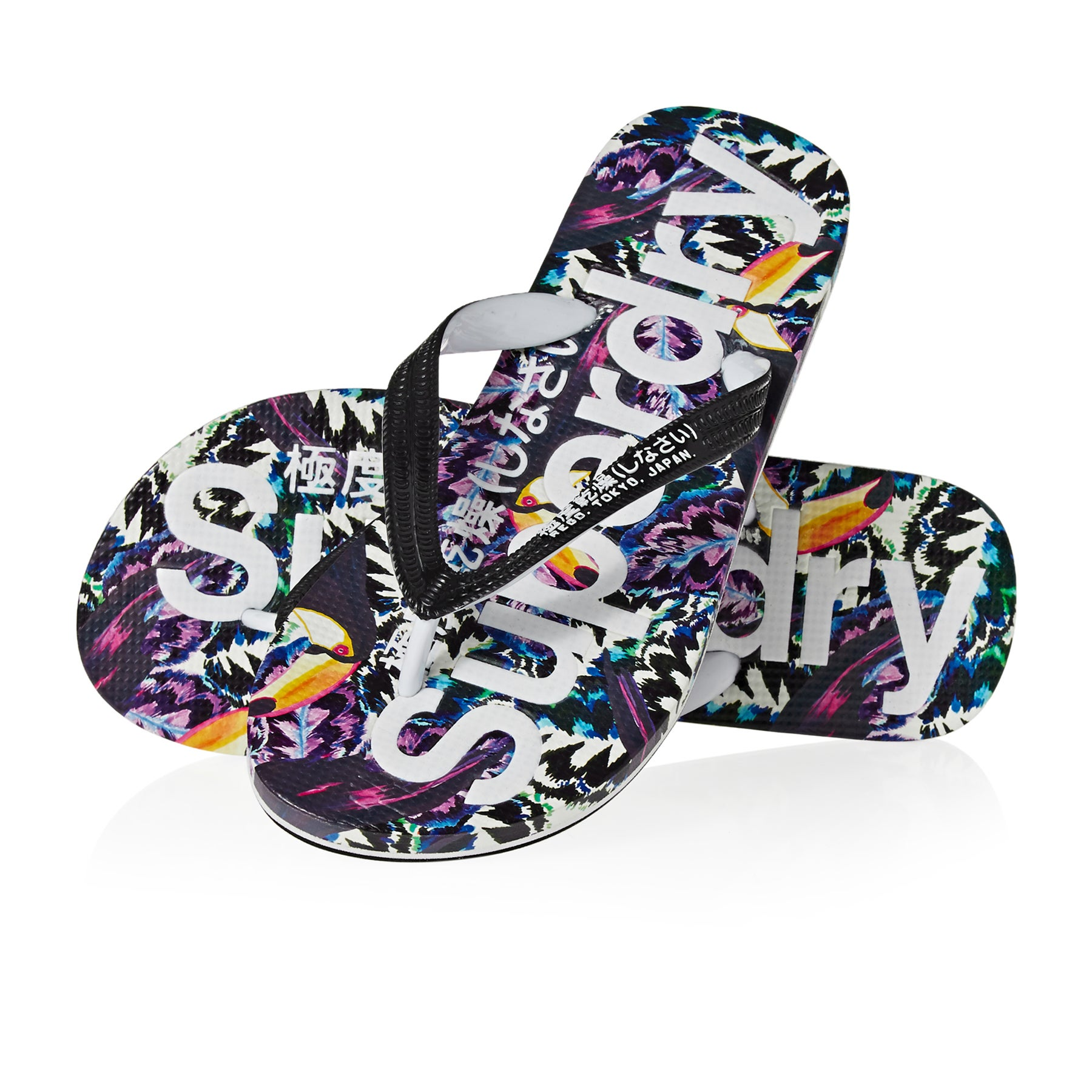 Sandales Femme Superdry All Over Print - Toucan Bazaar