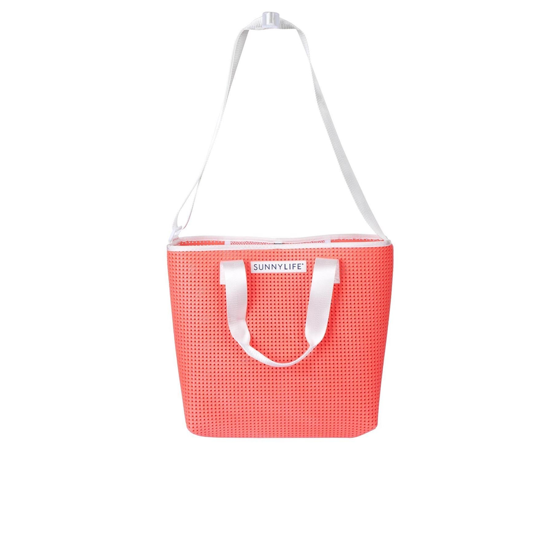 Sunnylife Refresh Tote Beach Bag - Neon Coral