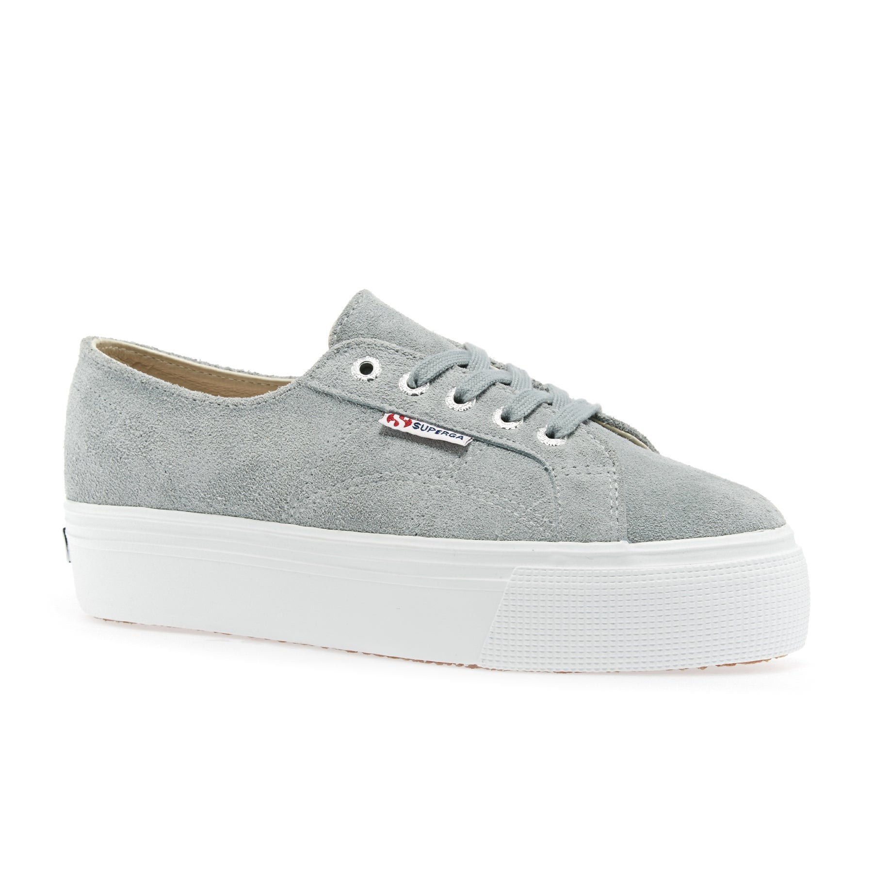 Superga 2790 Suew Womens Shoes - Lt Grey