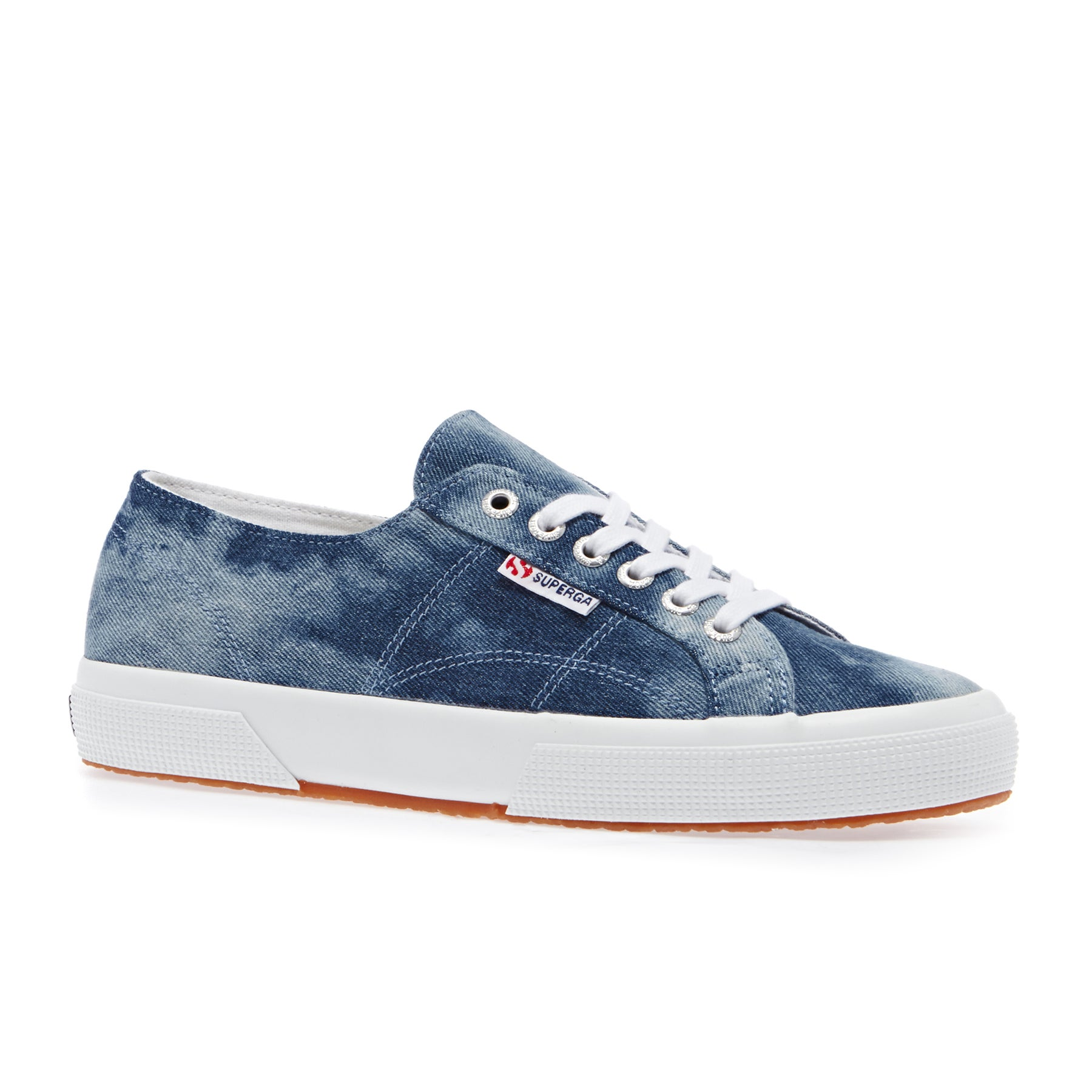 Superga 2750 Tiedyedenimu Shoes - Blue