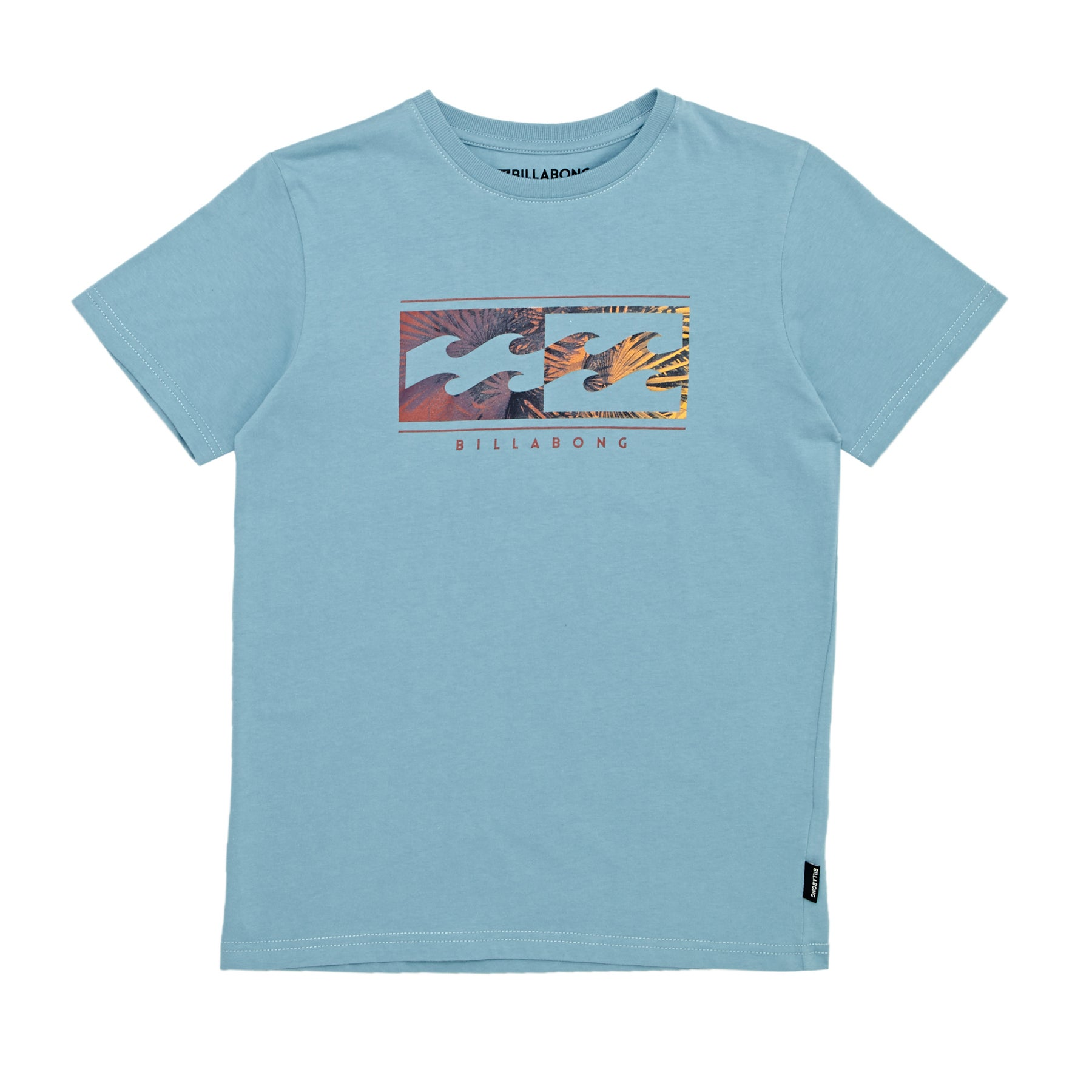 Camiseta de manga corta Boys Billabong Inversed - Aqua Blue
