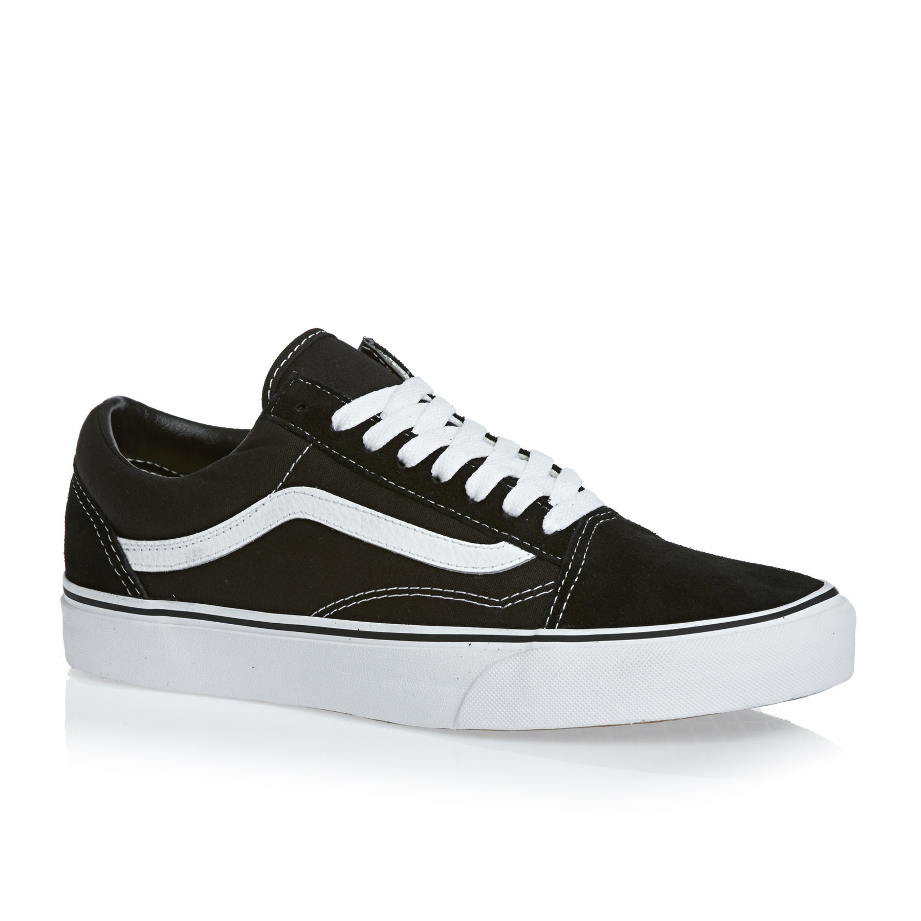 Vans Old Skool Shoes - Black White