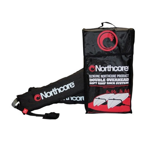 Northcore Double Overhead Soft Surfboard Rack - Black