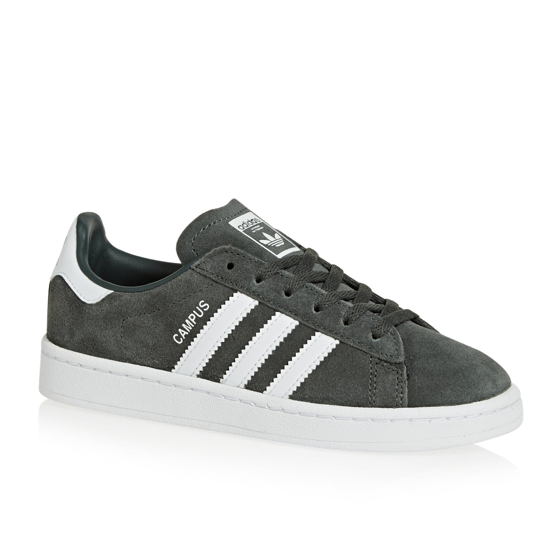 Adidas Originals Campus Junior Kids Shoes - Legend Ivy Footwear White