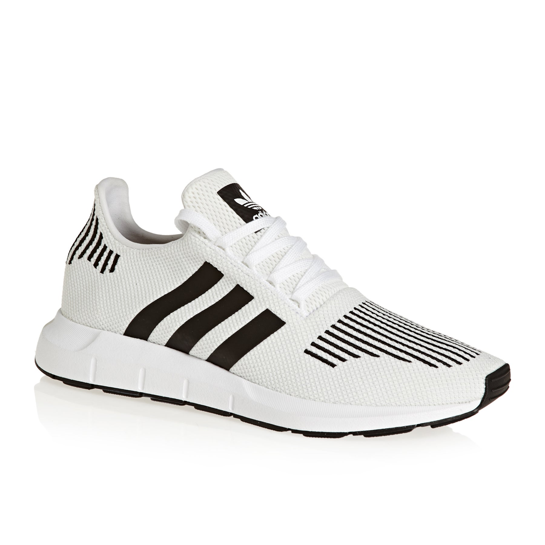 d418430ca Adidas Originals Swift Run Shoes. White Black Medium Grey Heather