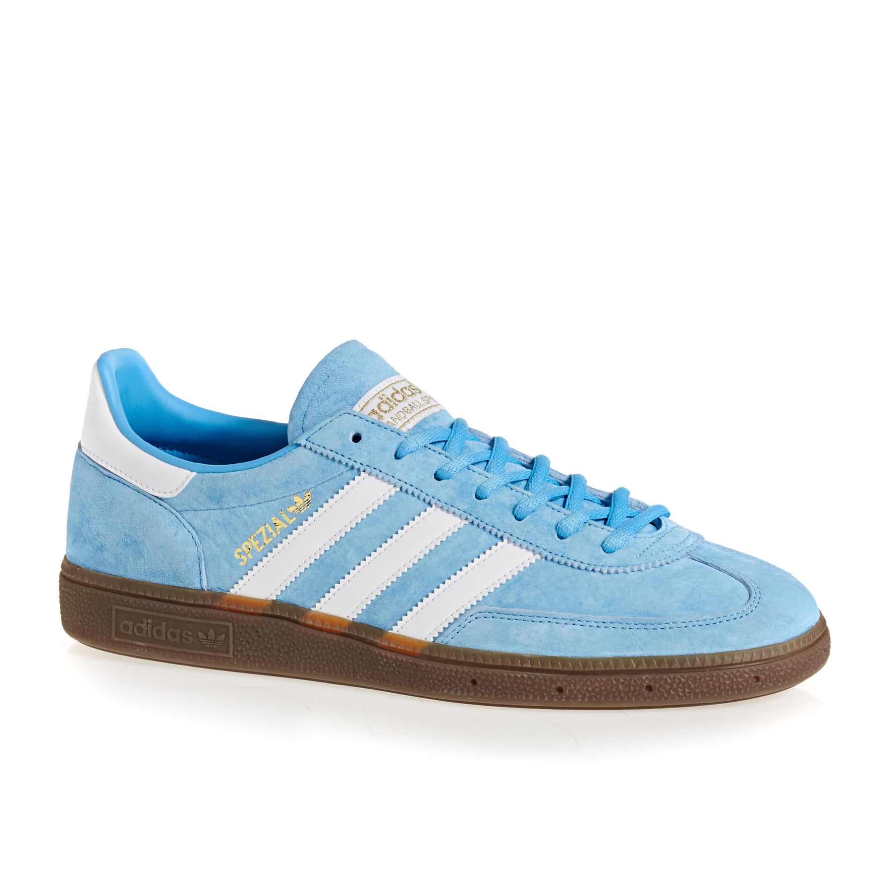 Adidas Originals Handball Spezial Shoes - Light Blue White Gum