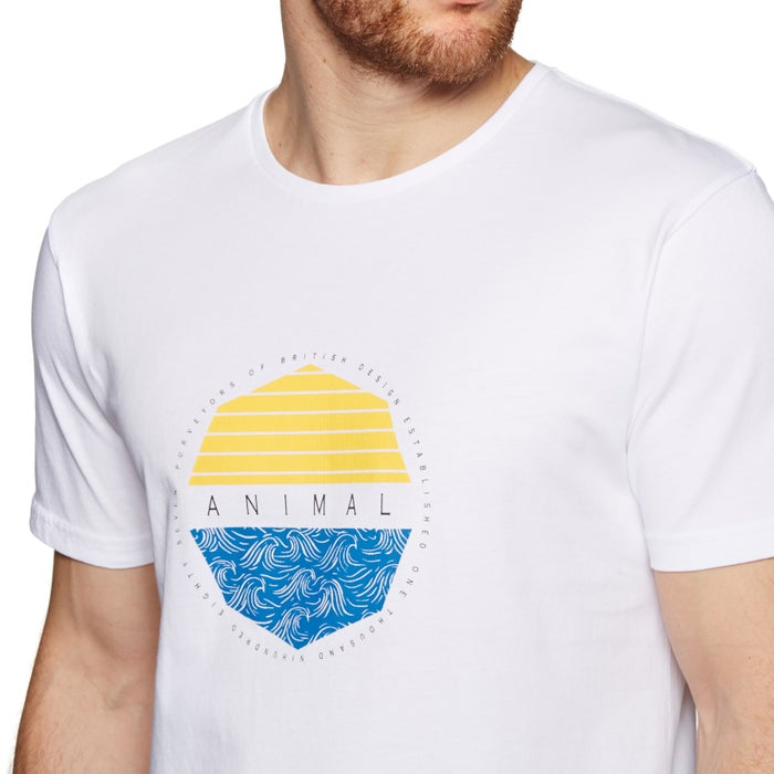 Animal Lamary Kurzarm-T-Shirt