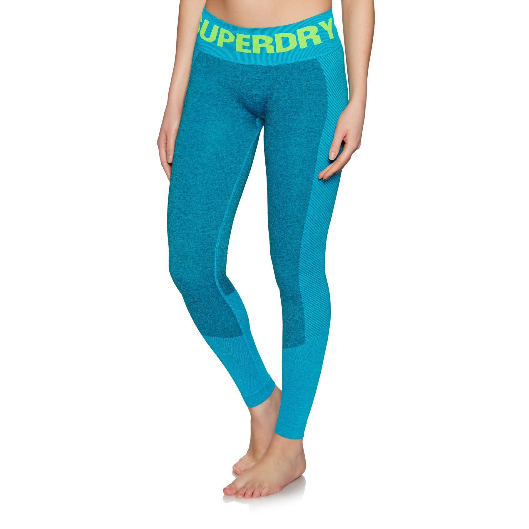 Leggings Femme Superdry Active Seamless - Botanical Green