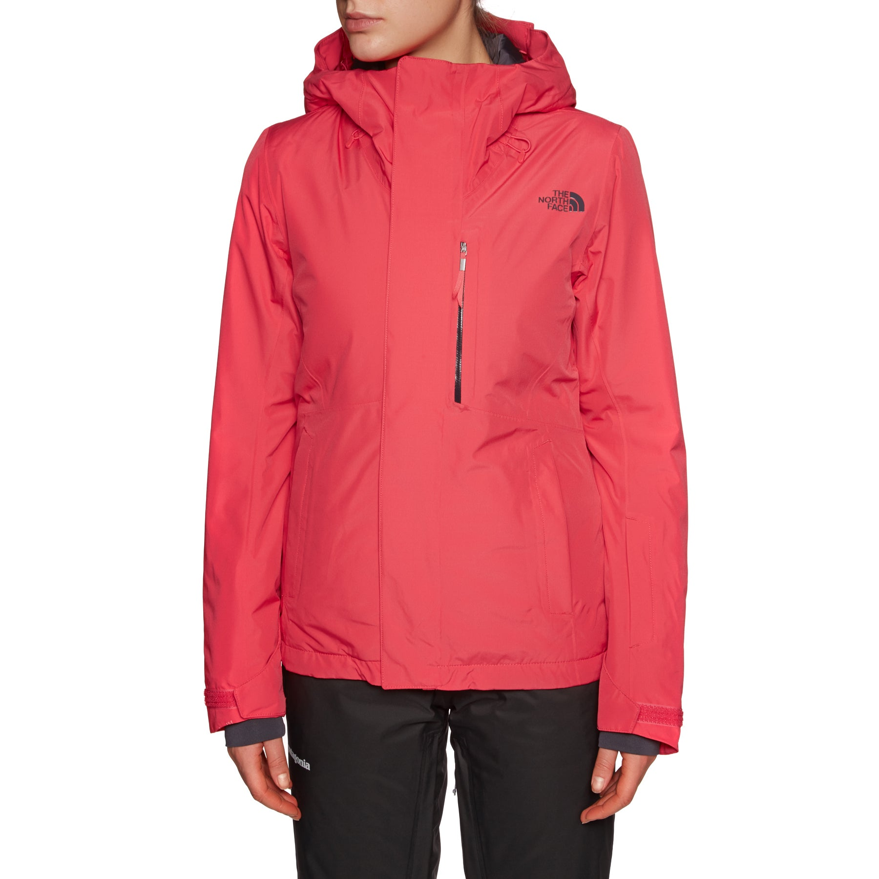 North Face Descendit Womens Jacket - Teaberry Pink
