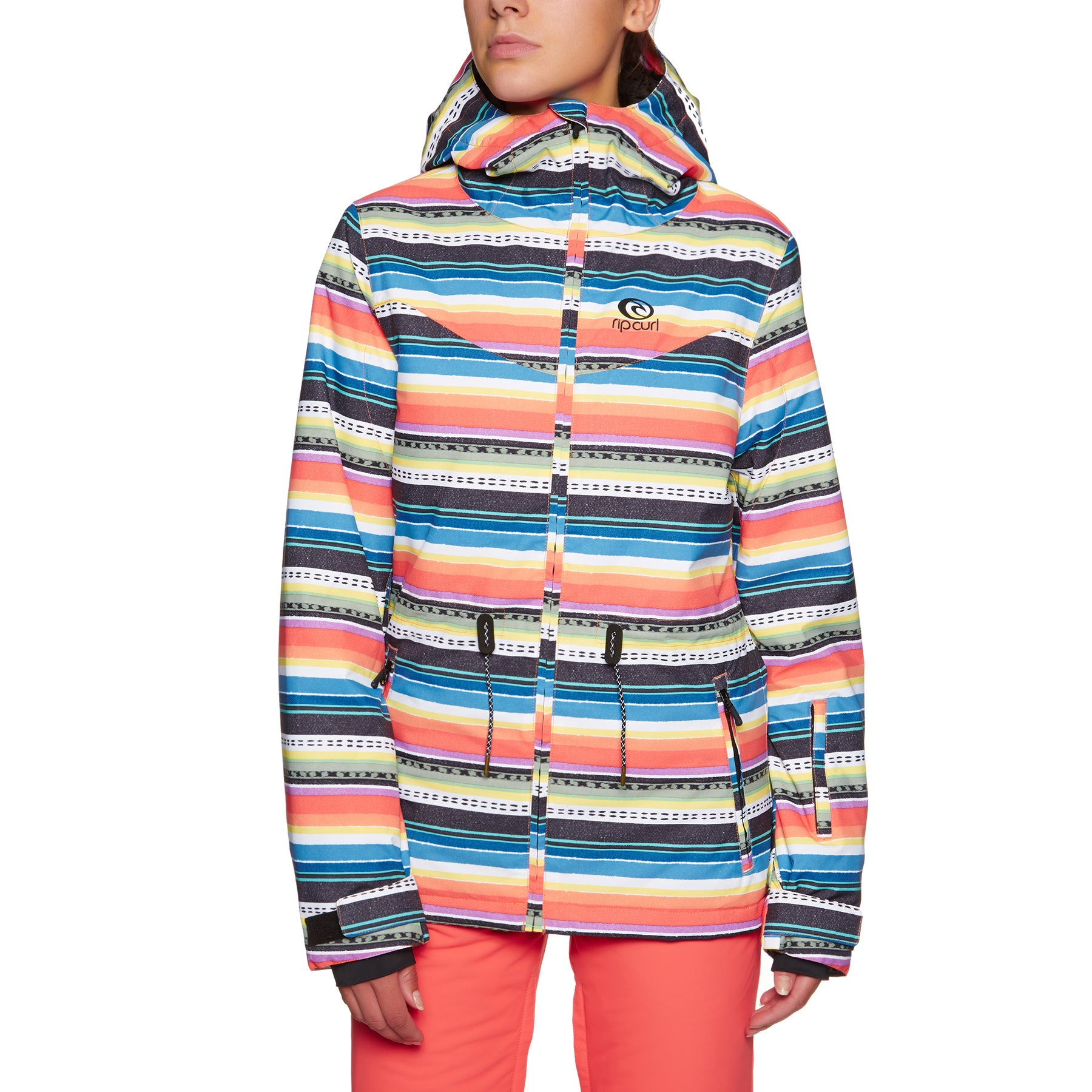 Rip Curl Betty Ptd Womens Snow Jacket - Red Orchid