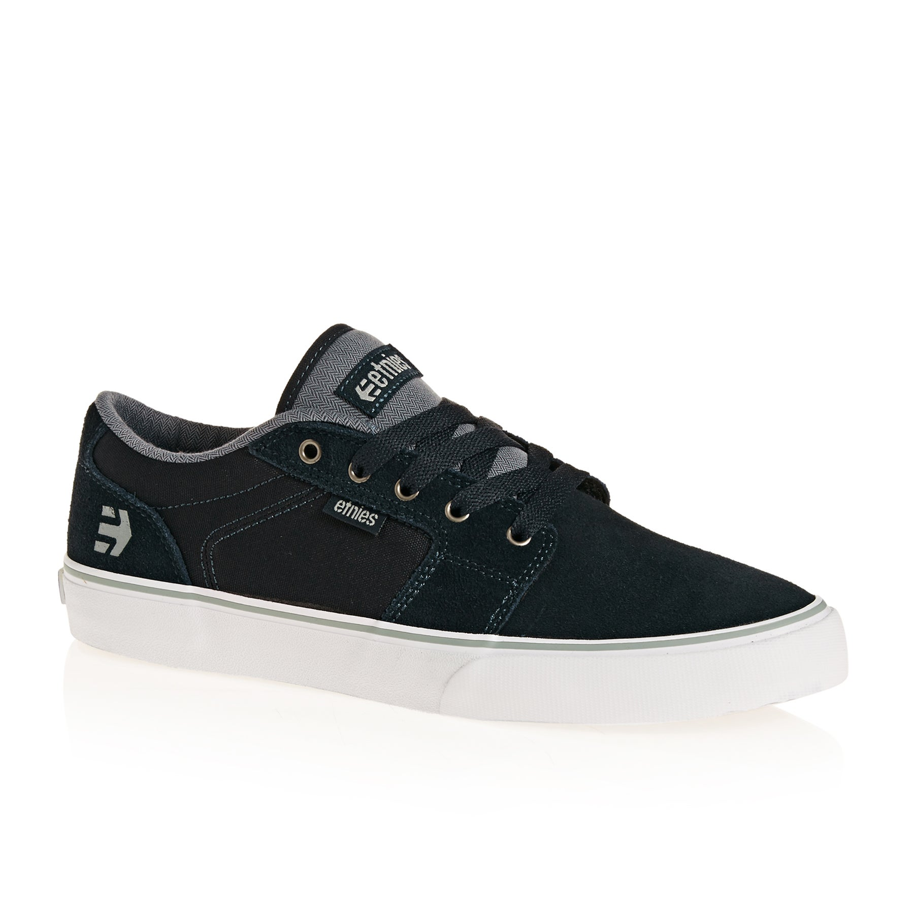 Etnies Barge LS Shoes - Navy Grey White