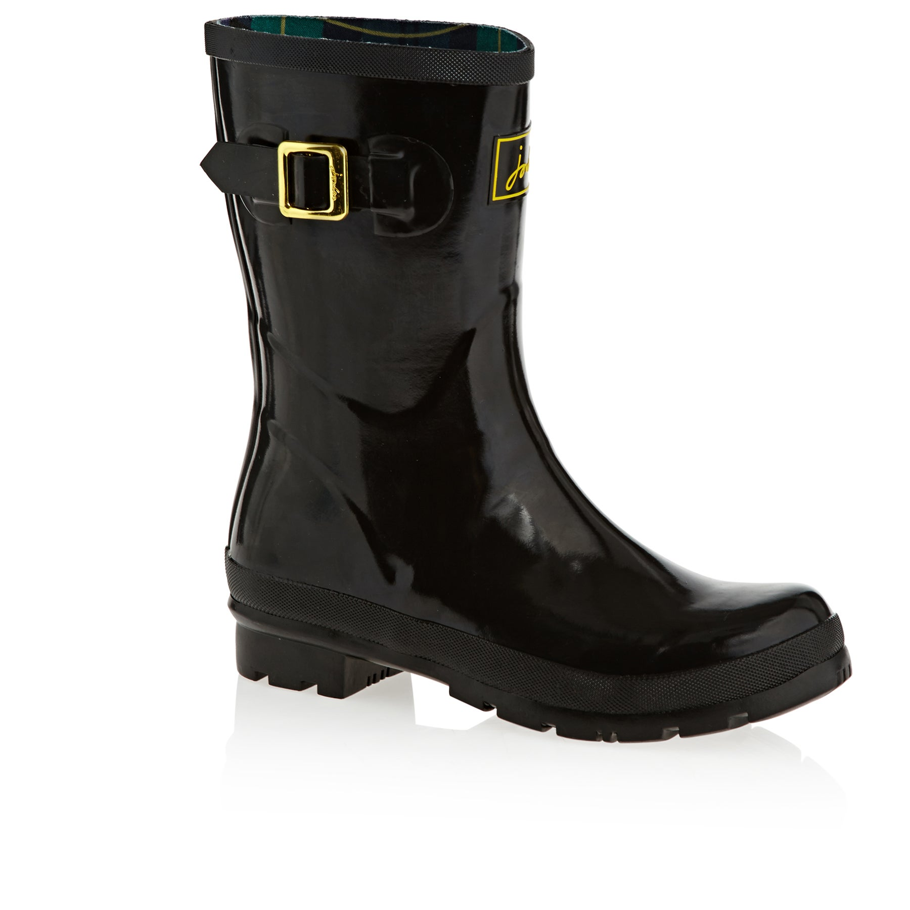 Joules Kelly Gloss Womens Wellies - True Black