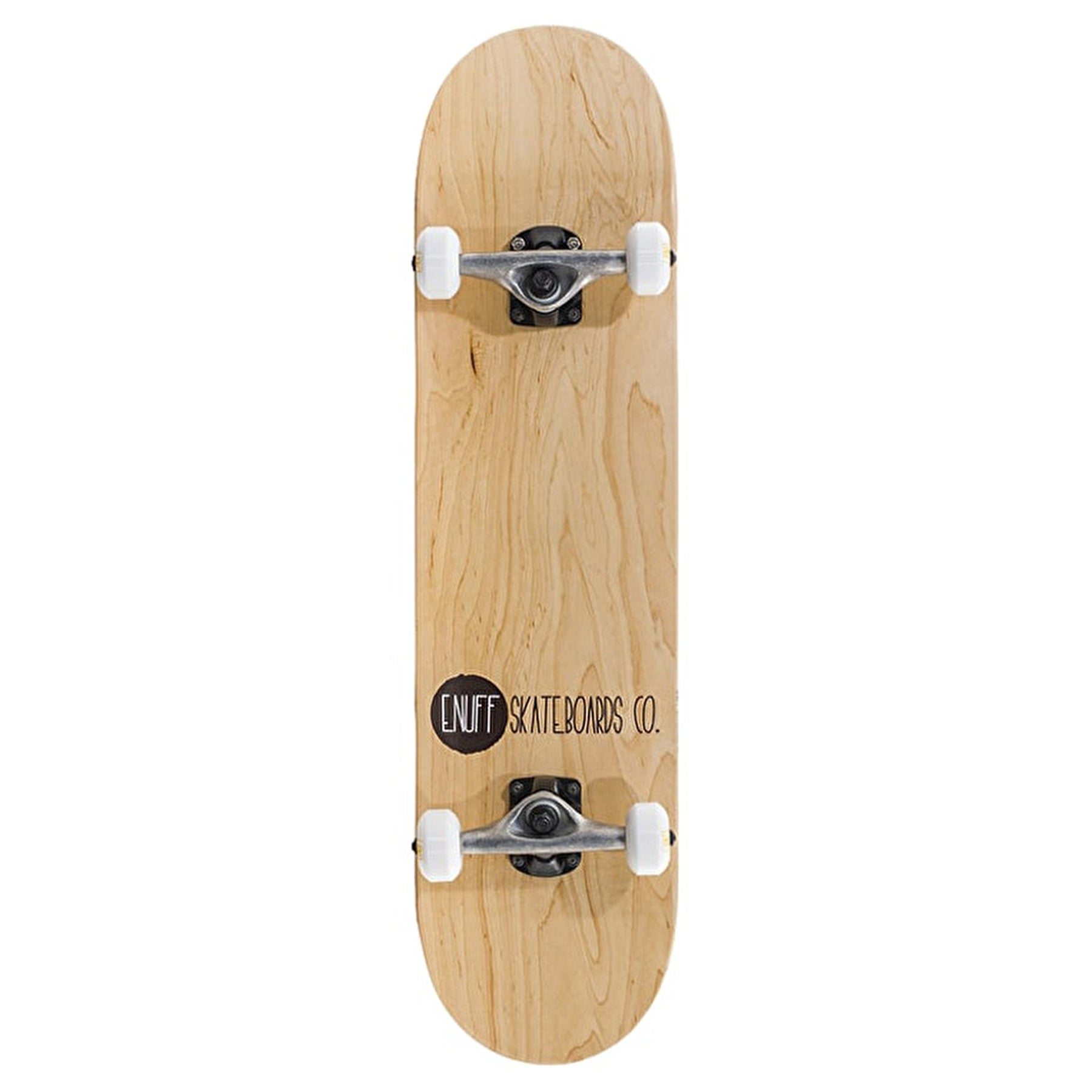 Enuff Logo Stain Complete 7.75 Inch Skateboard - Natural