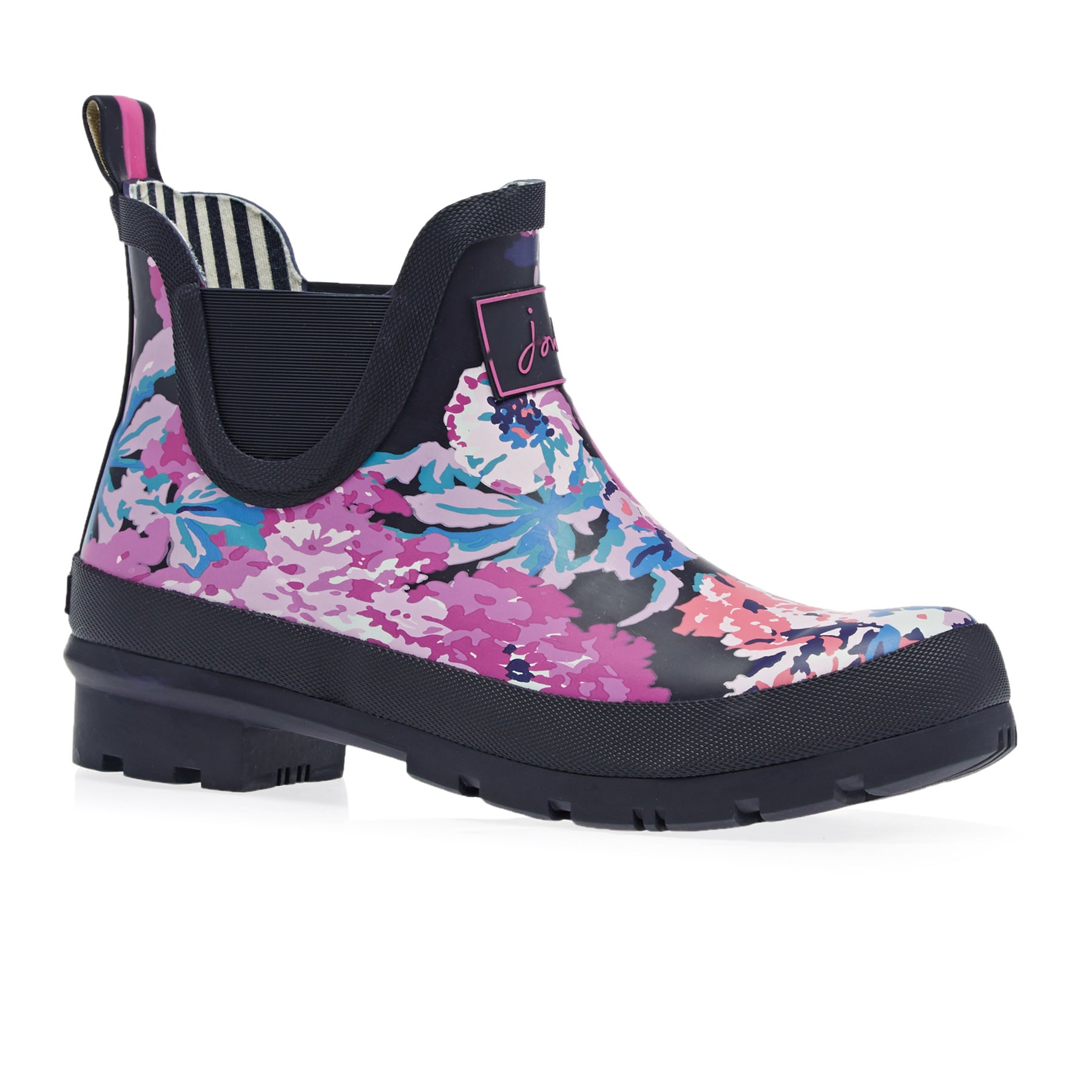 Joules Wellibob Womens Wellies - Navy All Over Floral
