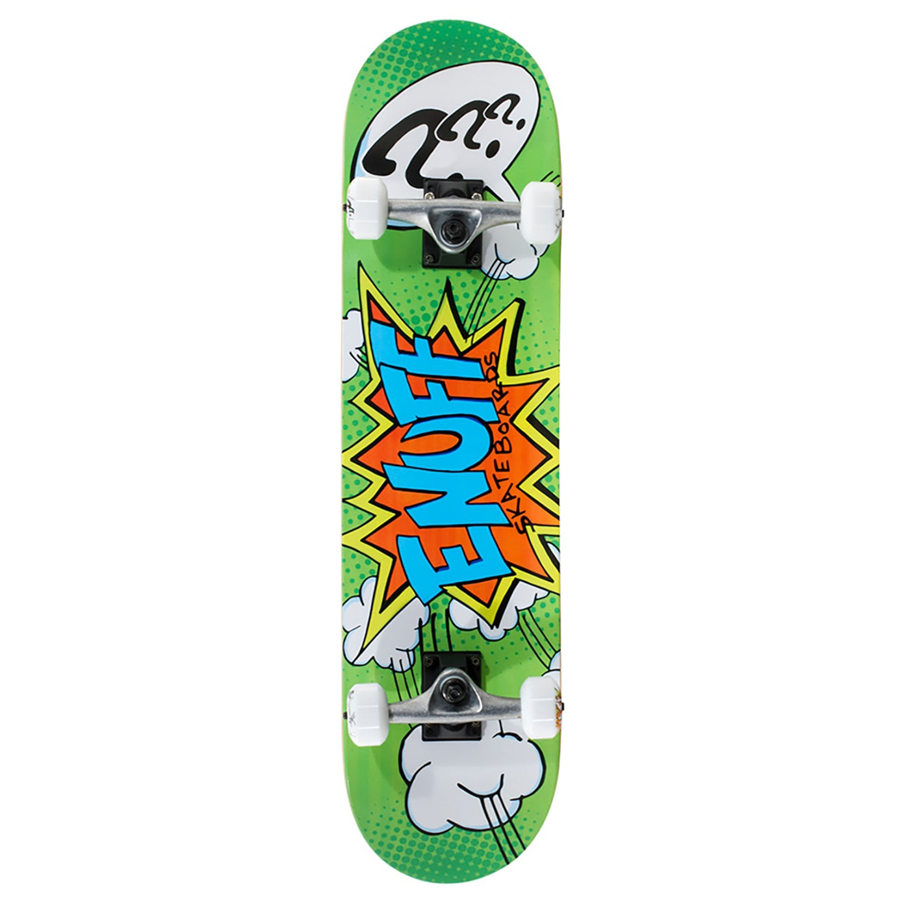 Enuff Pow ll Mini 7.25 Inch Skateboard - Green