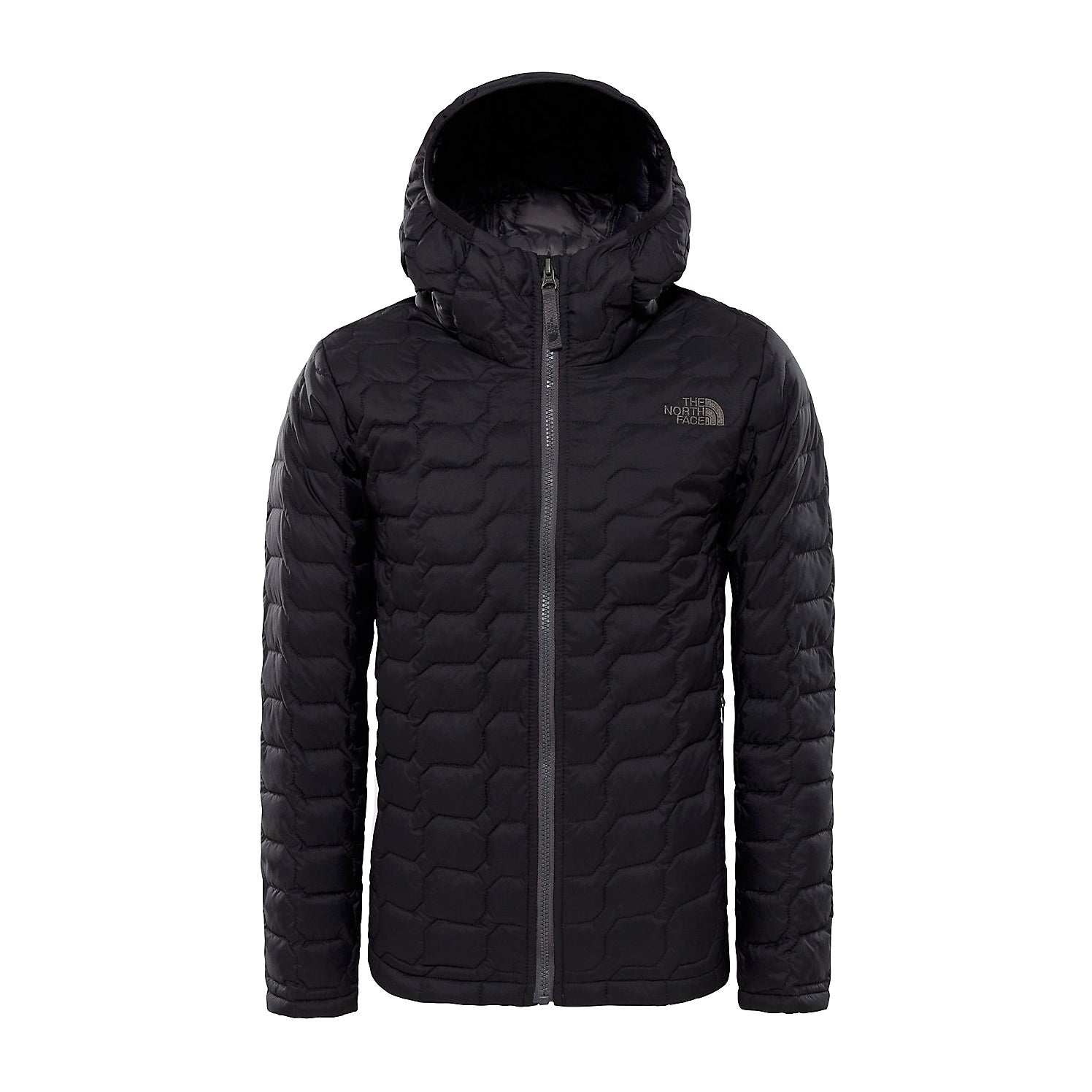 North Face B Thermoball Hoodie Boys Jacket - Tnf Black
