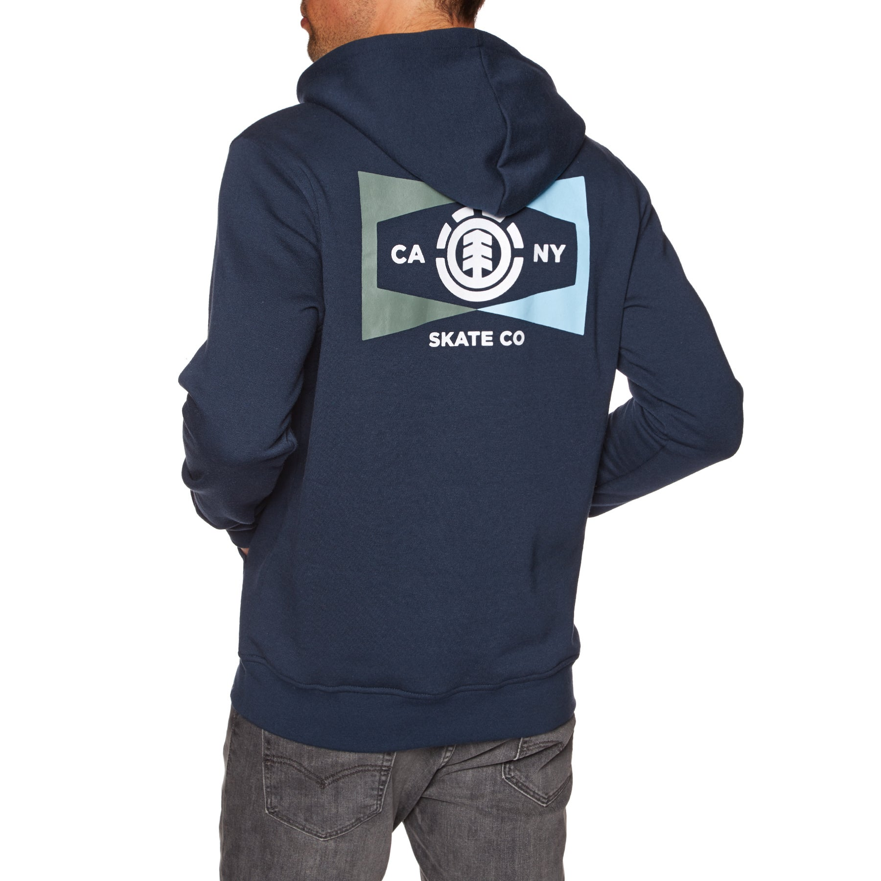 Element Section Pullover Hoody - Eclipse Navy