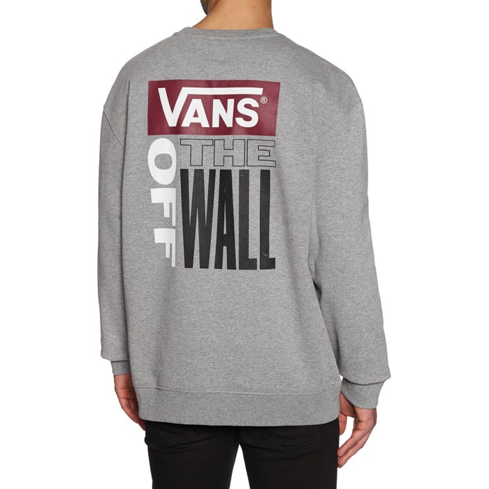 5f78e93ced Vans Retro Tall Type Crew Sweater available from Surfdome