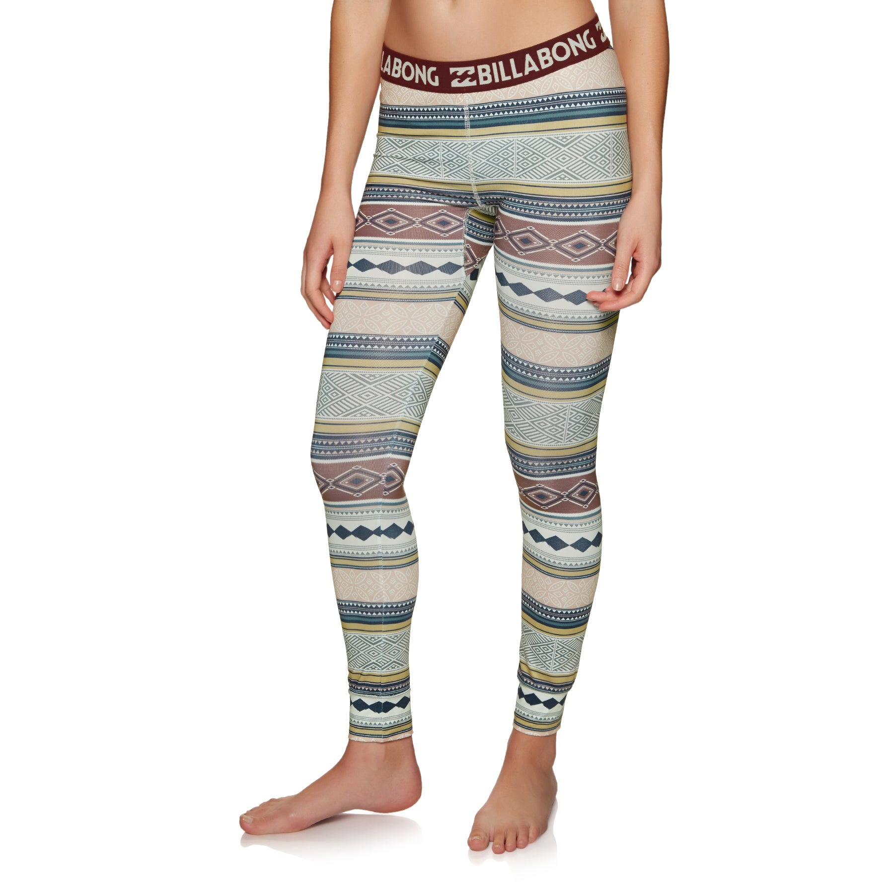 Billabong Warm Up Tech Womens Base Layer Leggings - Aztec