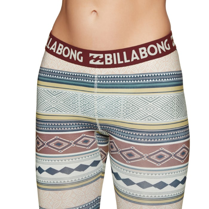 Billabong Warm Up Tech Womens Base Layer Leggings