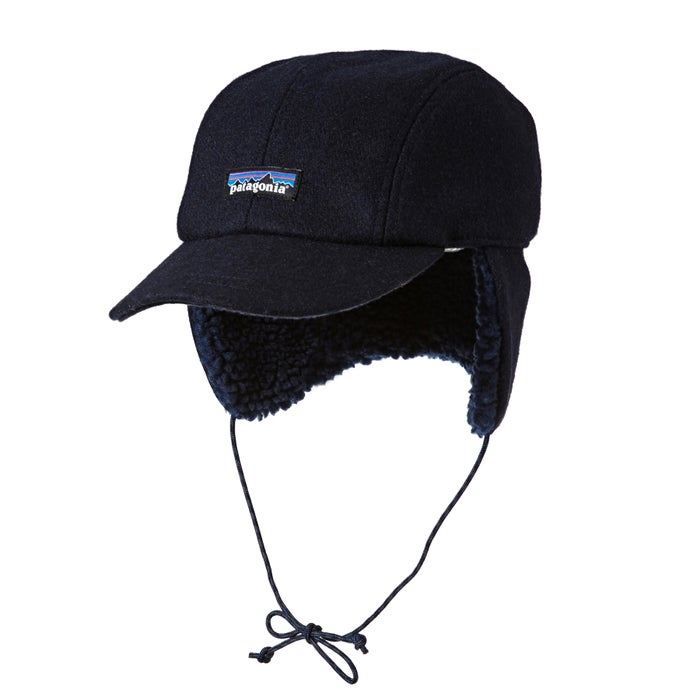 9cd7ca0e9bc9f Patagonia Recycled Wool Ear Flap Cap available from Surfdome