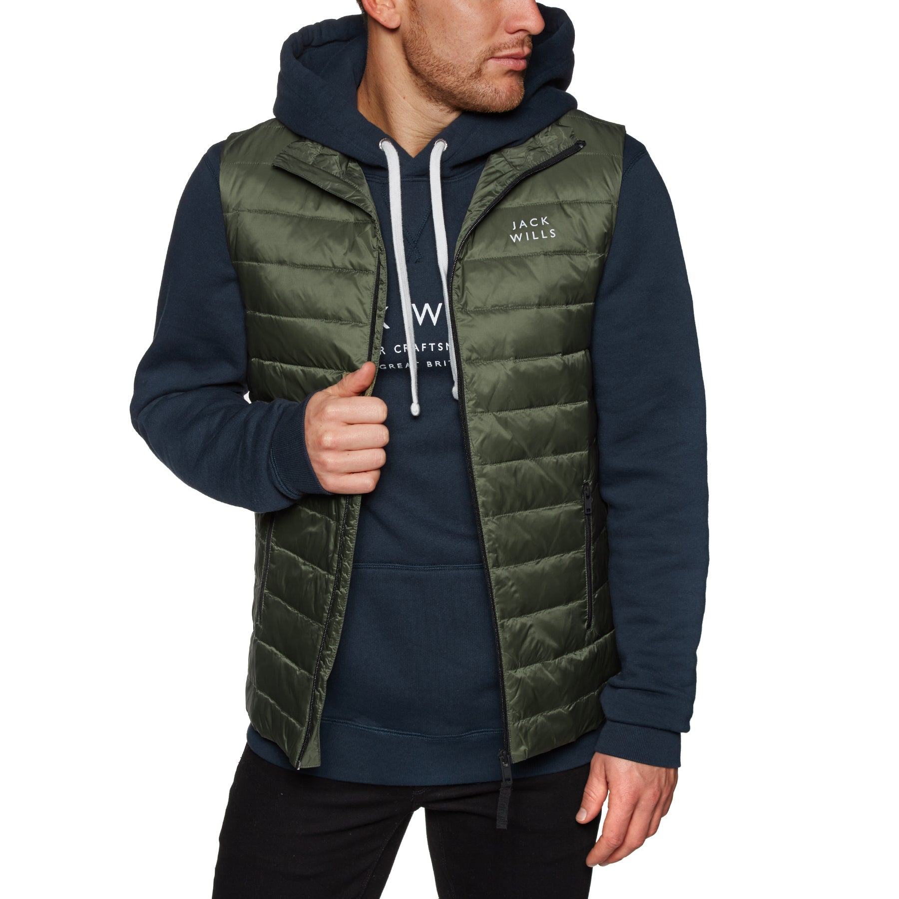 Jack Wills Knole Core Body Warmer - Olive