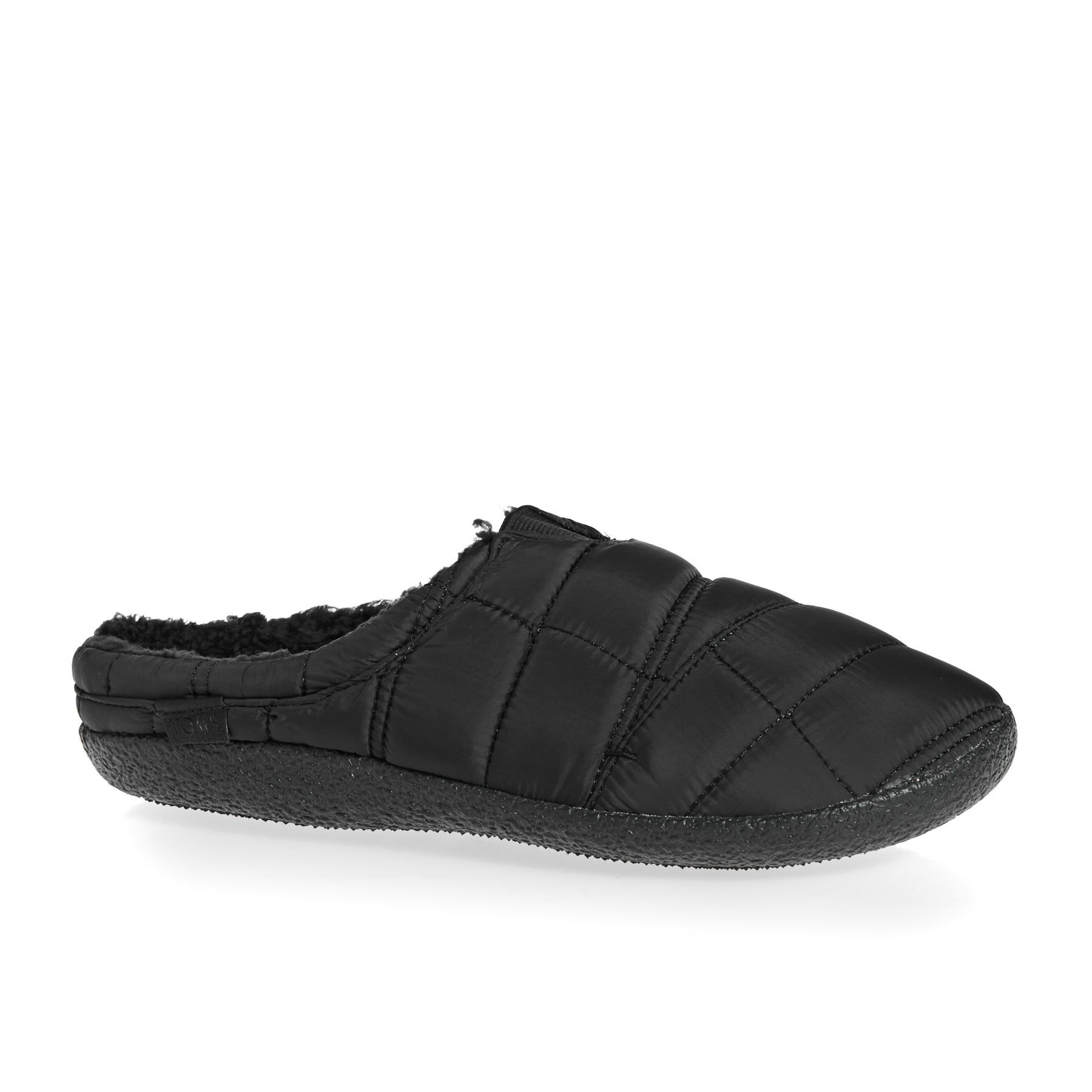Toms Berkeley Quilted Slippers - Black Quilted