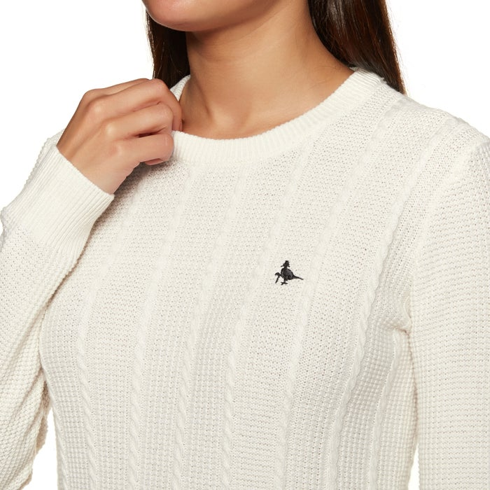 Sweat Femme Jack Wills Tinsbury Cable Crew