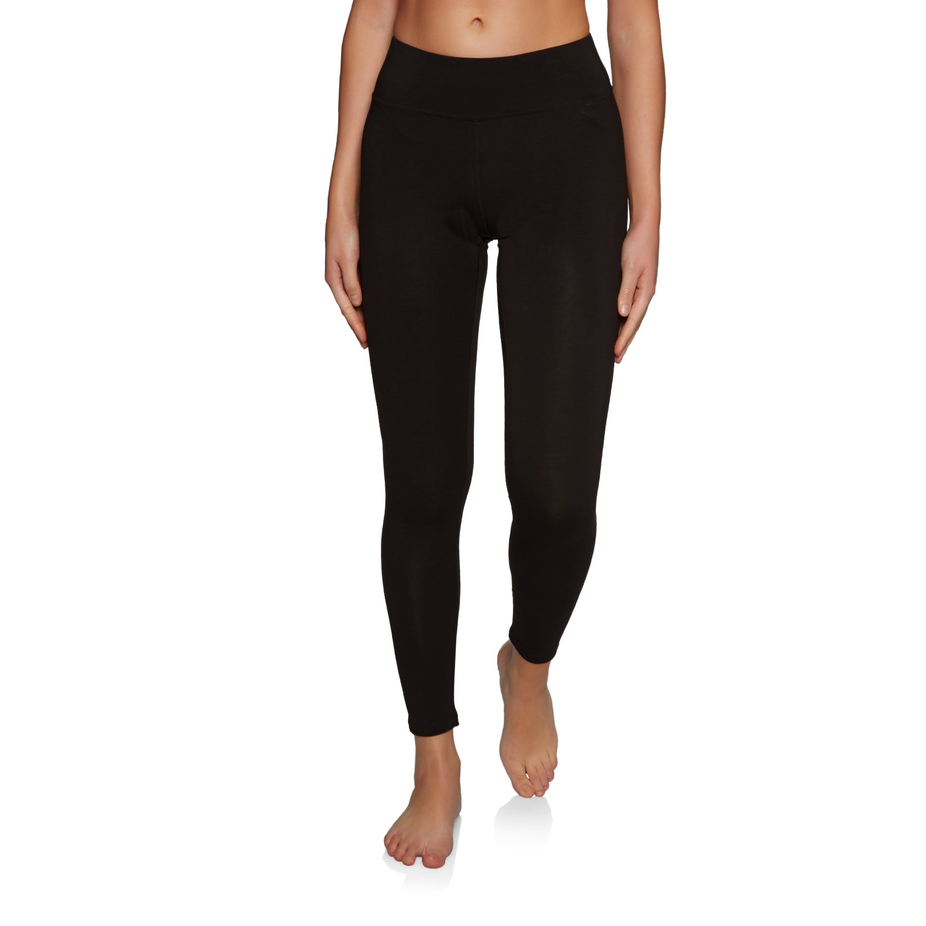 SWELL Cardrona Thermal Womens Base Layer Leggings - Black