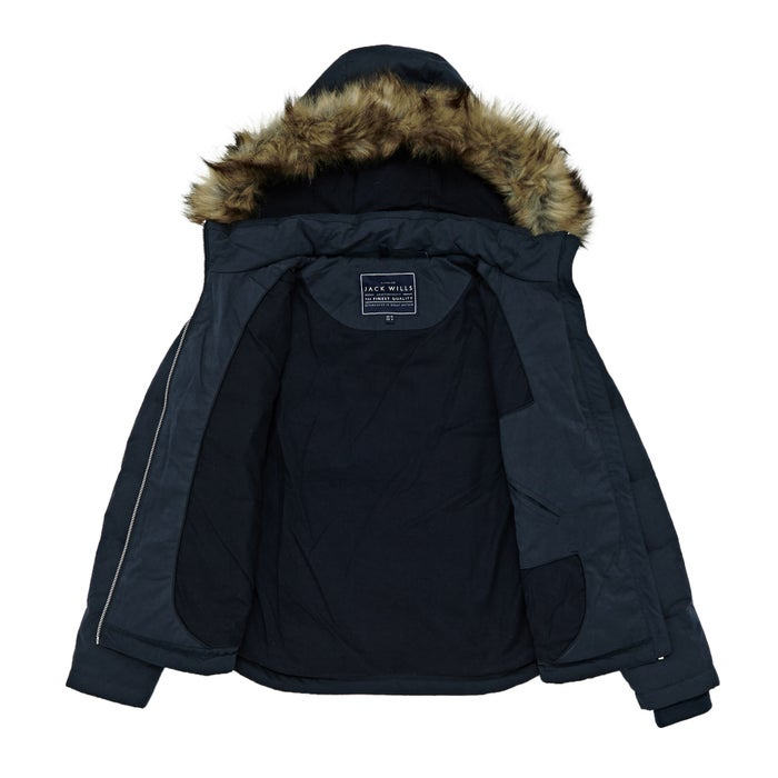 Jack Wills Keswick Womens Down Jacket Free Delivery Options
