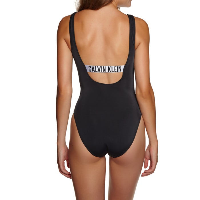 Calvin Klein Square Scoop One Piece Womens Swimsuit