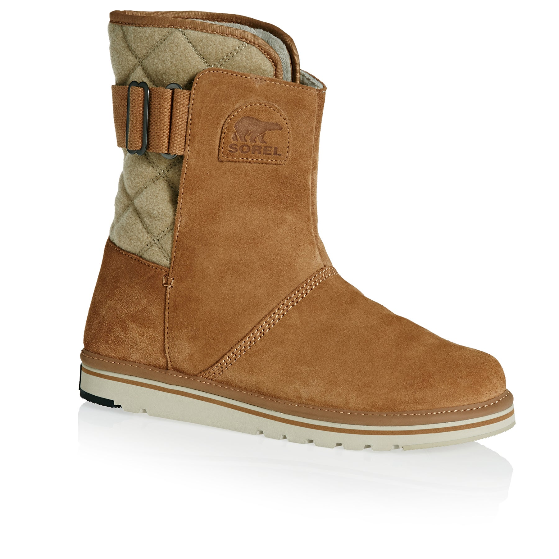 Sorel Newbie Short Womens Boots - Elk British Tan