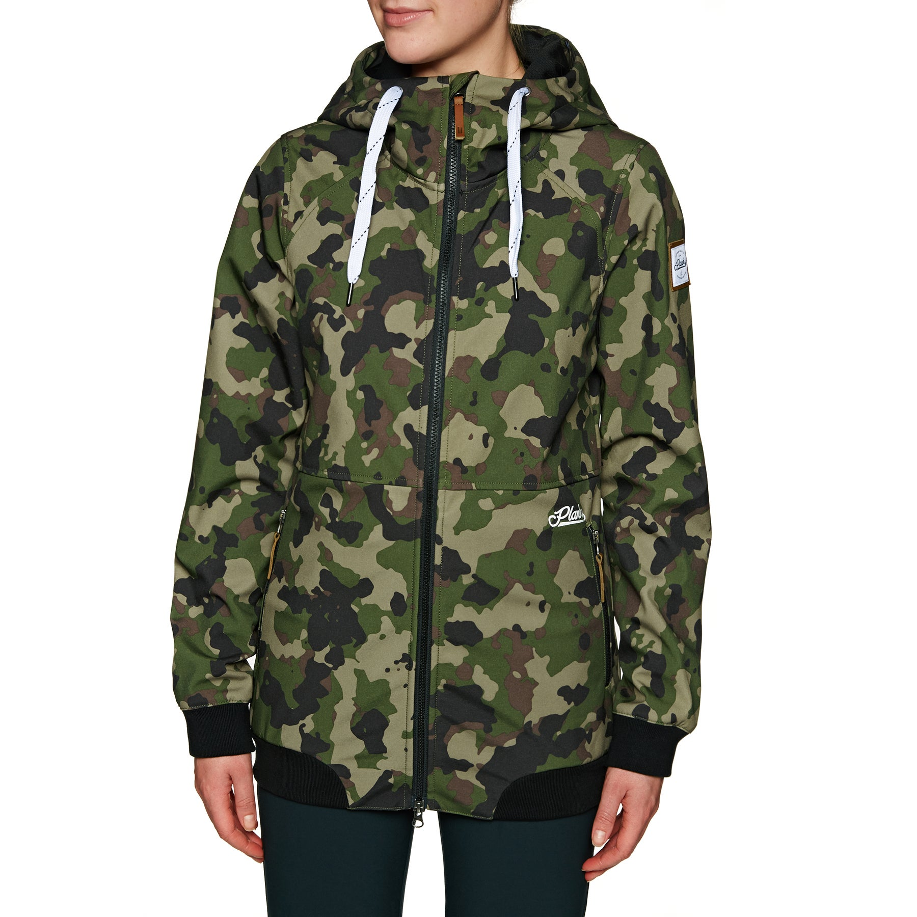 Giacca Snowboard Planks Reunion Soft Shell - British Camo