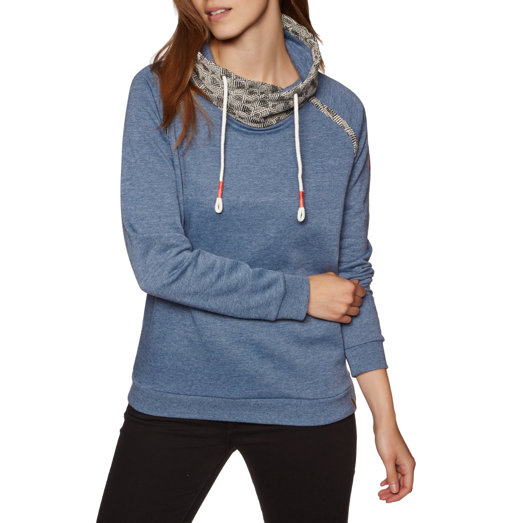 Protest Pooley Womens Sweater - Concrete