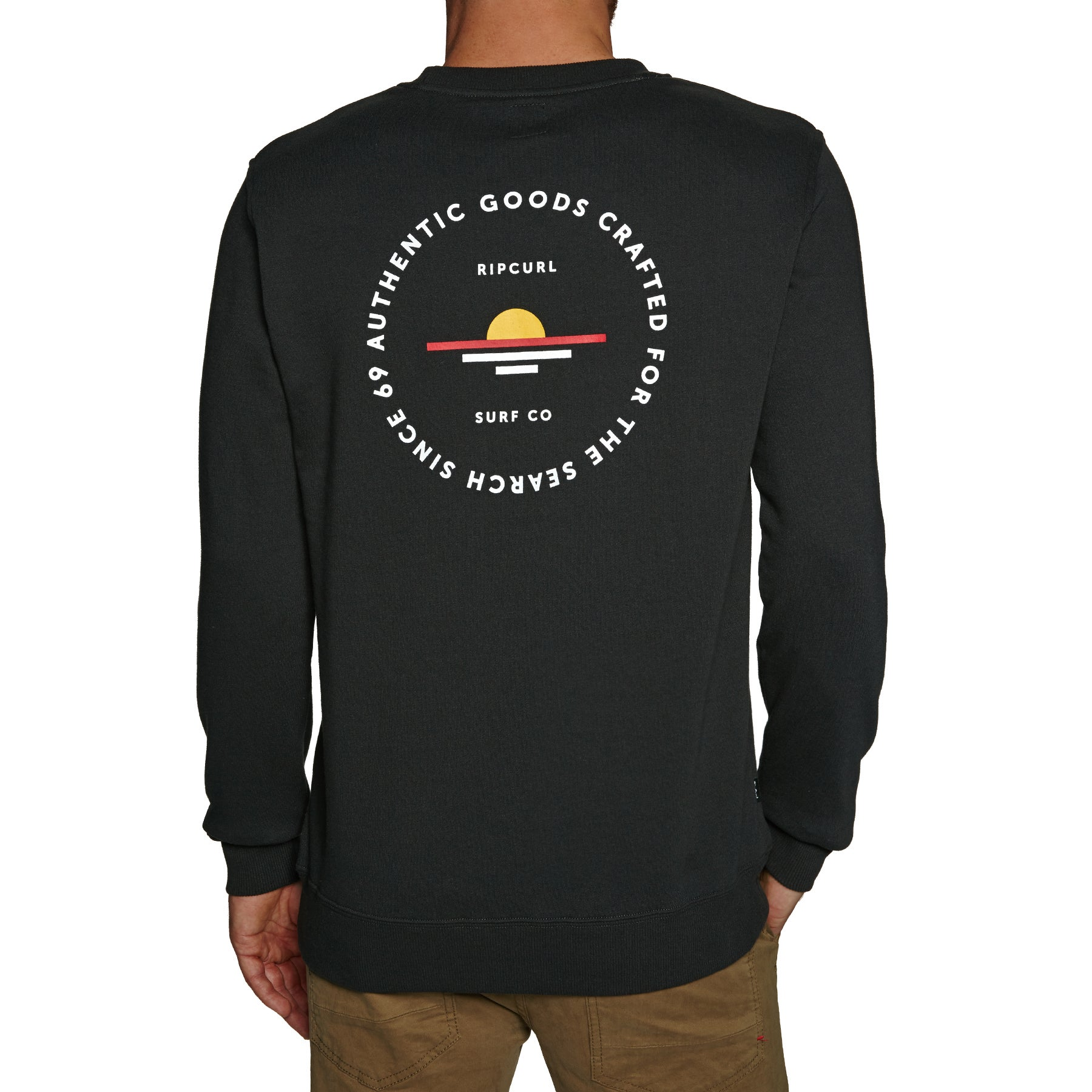 Sweat Rip Curl Made For Sunsets Crew - Anthracite