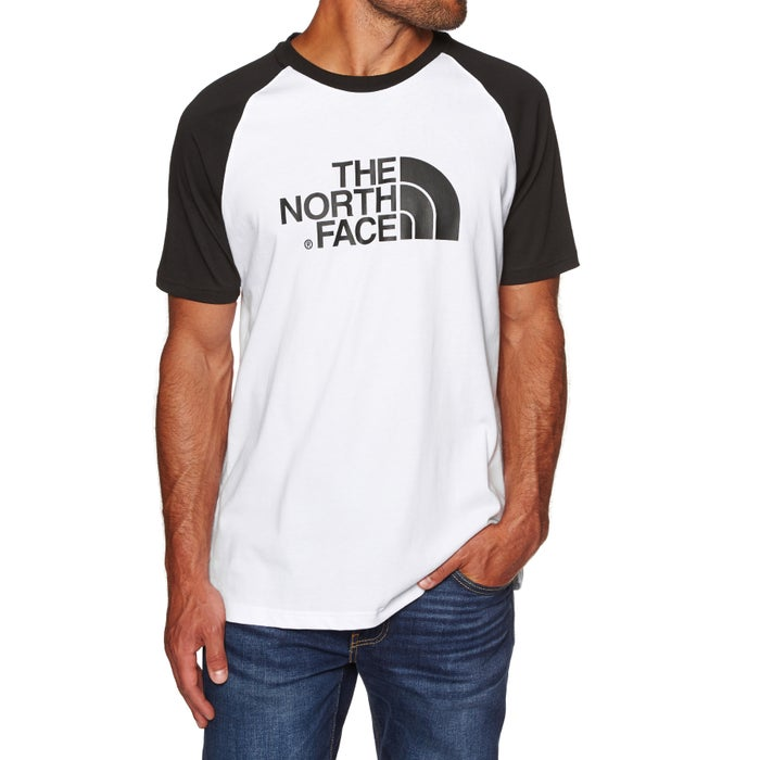 ddf570a2 North Face Raglan Easy Short Sleeve T-Shirt available from Surfdome